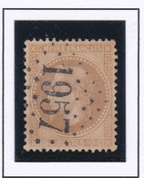 GC 1957 LANTOSQUE ( Dept 87 Alpes Maritimes ) S / N° 28 Indice Baudot S / L : 20  Soit 500€ - 1849-1876: Periodo Classico