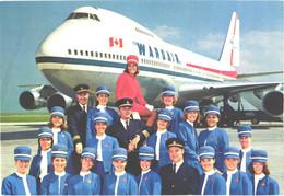 Wardair Passenger Airplane Boeing 747 - 1946-....: Modern Era