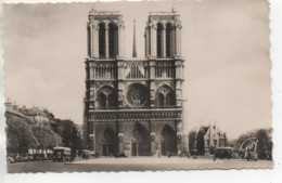 CP ( Paris - Facade De La Cathédrale Notre Dame ) - Altri