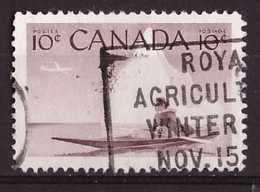 PIA - CANADA :1955 - Cacciatore  Eschimese In Kayak- (Yv  278) - Used Stamps