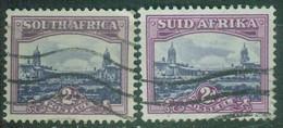 Afrique Du Sud - Colonie Britannique YT N° 182 183 V171 - Used Stamps