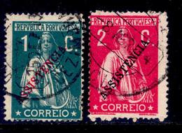 ! ! Portugal - 1912 Ceres Postal Tax (Complete Set) - Af. IPT 03 & 04 - Used - Used Stamps