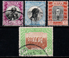 SUDAN - 1951 - Hadendowa, Sudan Policeman, Saluka Farming - USATI - Sudan (...-1951)