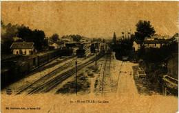 CPA AK IS-sur-TILLE - La Gare (587022) - Is Sur Tille