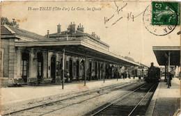 CPA AK IS-sur-TILLE - La Gare Les Quais (587030) - Is Sur Tille