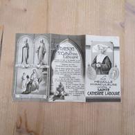 Sainte Catherine Labouré Médaille Miraculeuse - Publicités