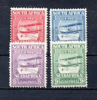 T1-9 Afrique Du Sud PA N° 1 à 4  * A Saisir !!!  Avions - Aéreo