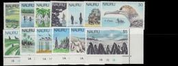 Nauru 1978-79 Set Less 4 1979 Values Unmounted Mint. - Nauru