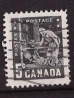 PIA - CANADA :1957 - 6° Congresso Delle Miniere E Della Metallurgia - Minatore Al Lavoro - (Yv  300) - Used Stamps