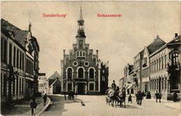 CPA AK SONDERBURG Rathaus Markt DENMARK (565479) - Danemark