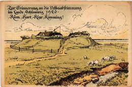 CPA AK Erinnerung An Die Volkabstimmung I Lande Schleswig 1920 DENMARK (565496) - Danemark