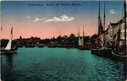 CPA AK SONDERBURG Hafen Mit Ponton Brücke DENMARK (565534) - Danemark