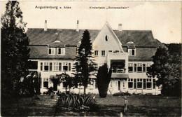 CPA AK AUGUSTENBURG A. Alsen Kinderheim Sonnenscheim DENMARK (565573) - Danemark