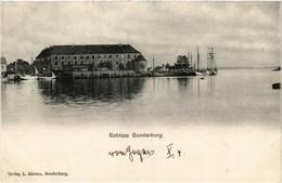CPA AK SONDERBURG Schloss DENMARK (565576) - Danemark
