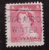 PIA - CANADA :1953 - Regina Elisabetta II° - (Yv  262) - Used Stamps