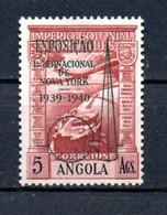 T1-9 Angola PA N° 1 à 9 ** Signé 2 Fois A Saisir !!!  Avions - Angola