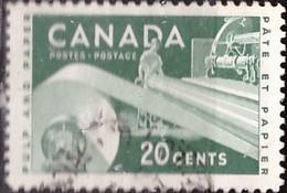 PIA - CANADA :1956 - Risorse Economiche - (Yv  289-90) - Used Stamps