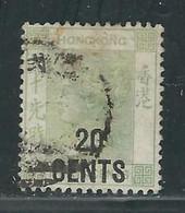 HONG-KONG N° 54 Obl. - Used Stamps