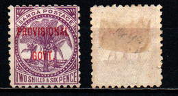 SAMOA - 1899 - Palms - Overprinted In Red - MH - Samoa