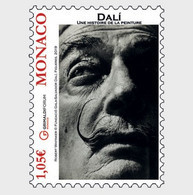 Monaco 2019 Salvador DalI Art Artist Painting Impressionnism Sculptur 1v Mnh - Unused Stamps