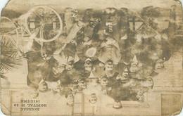 080521 - RARE CARTE PHOTO - 82 MOISSAC HOPITAL N°49 1914 1915 MILITAIRE - HM GUERRE 1914 18 WW1 Blessé Convalescent Vélo - Moissac