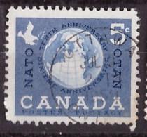 PIA - CANADA :1959 - 10° Anniversario Della NATO - (Yv  311) - Used Stamps