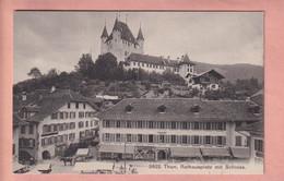 OUDE POSTKAART - ZWITSERLAND -   THUN - ANIMATED - BE Berne