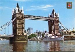 1983 Tower Bridge With Dutch Destroyer HNLMS Holland D808 - Photo Taken Before 1978 - Nederlands Marine Schip - Ed. FISA - Other