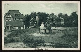 Knocke - Golf - Circulée - Edit. Coolen-Goes - 2 Scans - Knokke