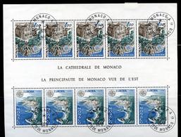 TIMBRES MONACO REF080521LI, BLOC N° 14 Oblitéré - Blocks & Sheetlets