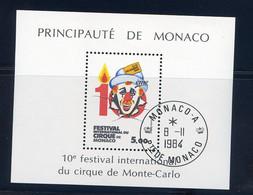 TIMBRES MONACO REF080521LI, BLOC N° 29 Oblitéré - Blocks & Sheetlets