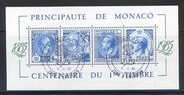 TIMBRES MONACO REF080521LI, BLOC N° 33 Oblitéré - Blocks & Sheetlets