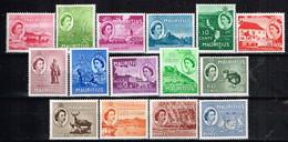 ILE MAURICE / MAURITIUS / NEUF*/MLH* / 1953/54 - Série Courante / Elizabeth II En Médaillon + Sujets Divers - Mauritius (...-1967)