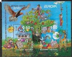 Bulgarie 2010 Bloc N° 269 Neufs Europa Livres Pour Enfants - 2010
