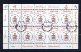 TIMBRES MONACO REF080521LI, BLOC N° 2229 Oblitéré - Blocks & Sheetlets