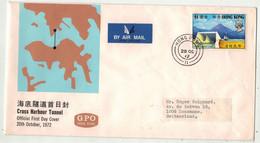 Grande-Bretagne Ex-colonies // Hong Kong // Lettre Pour La Suisse - Covers & Documents