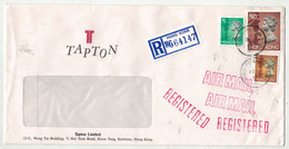 Grande-Bretagne Ex-colonies // Hong Kong // Lettre Recommandée Pour La Suisse (Grand Format) - Covers & Documents