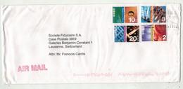 Grande-Bretagne Ex-colonies // Hong Kong // Lettre Pour La Suisse (Grand Format) - Covers & Documents