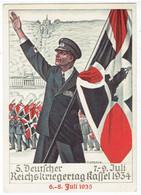 Propaganda Deutsche Reich - 5. Deutscher Reichskriegertag Kassel 1934 - Fahne - War 1939-45