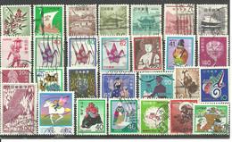 JAPON 5 Scans D'une Collection De 150 Timbres Différents - Collections, Lots & Series