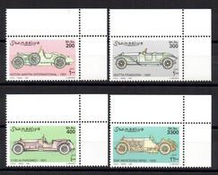 SOMALIA, 1999 - SERIE, SET - AUTO STORICHE - HISTORIC CARS, MNH** ADF - Somalie (1960-...)