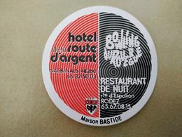 AUTOCOLLANT HOTEL DE LA ROUTE D'ARGENT – 48260 NASBINALS – BOWLING DU ROUERGUE RESTAURANT DE NUIT - RODEZ MAISON BASTIDE - Adesivi