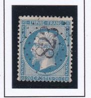 GC 823 SEVINS ( Dept 88 Savoie ) S / N° 22 Indice Baudot S / L : 15 Soit 160€ - 1849-1876: Periodo Classico