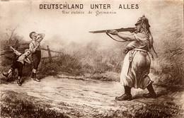 Propagande Française. Deutschland Unter Alles - War 1914-18