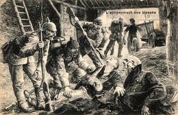 Propagande Française. L'achèvement Des Blessés - War 1914-18