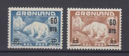 Greenland 1956 - Michel 37-38 MNH ** - Ungebraucht