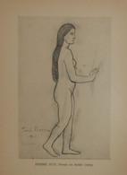 Picasso. Reproduction. 1938. Femme Nue. - Estampes & Gravures