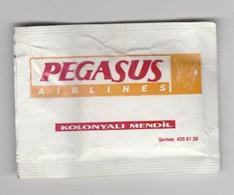 Pegasus Airlines Turkije (TR) Refreshing Tissue-verfrissingsdoekje - Cadeaux Promotionnels