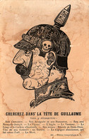 Propagande Française. Cherchez Dans La Tête De Guillaume - War 1914-18