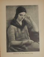 Picasso. Reproduction. 1938. Portrait De Madame Picasso. - Estampes & Gravures